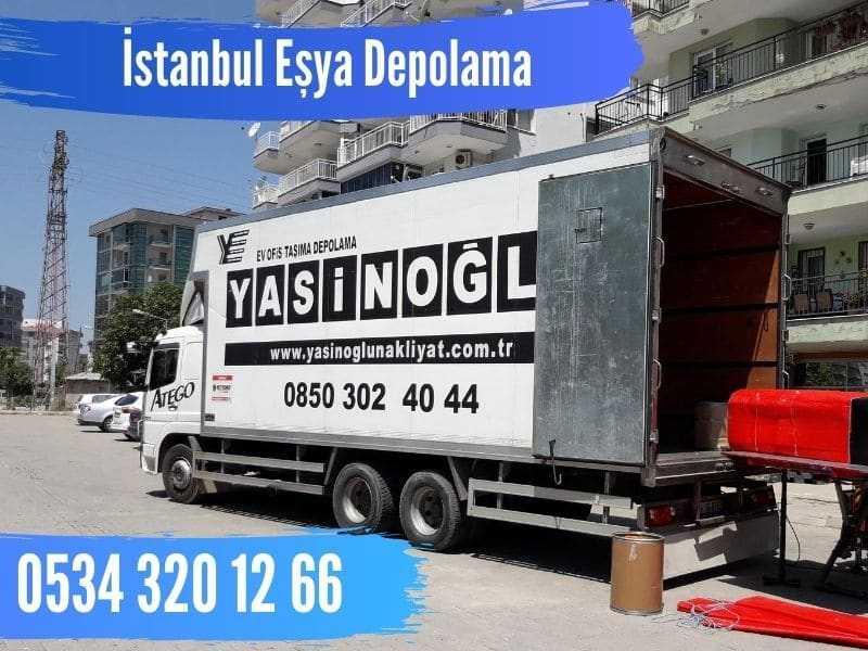 İstanbul eşya depolama
