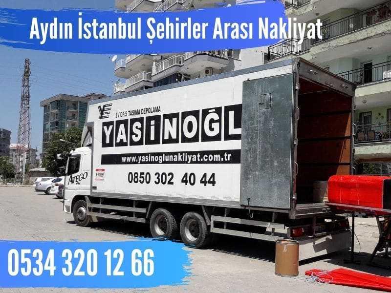 aydın istanbul şehirler arası nakliyat