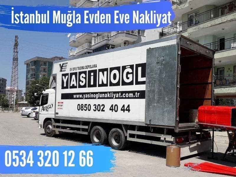 İstanbul muğla evden eve nakliyat