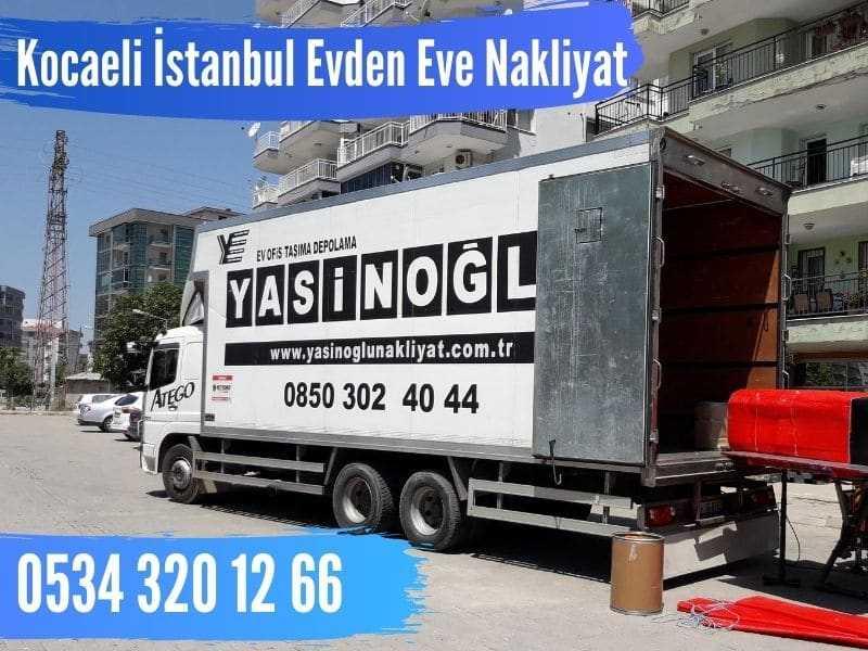 kocaeli istanbul şehirler arası nakliyat