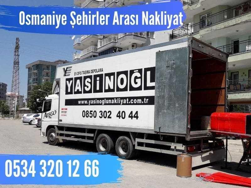 osmaniye şehirler arası nakliyat