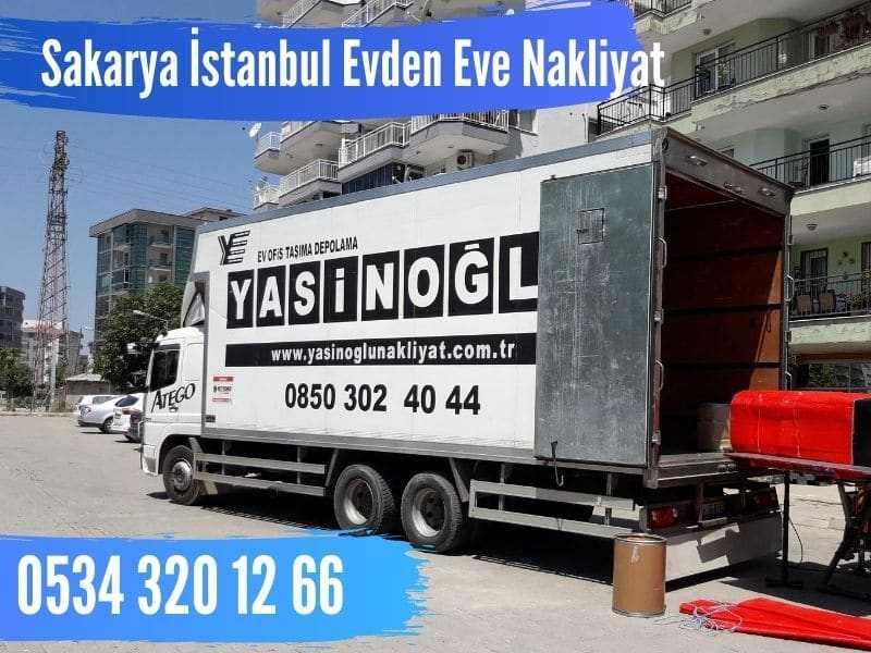 sakarya istanbul şehirlerarası nakliyat